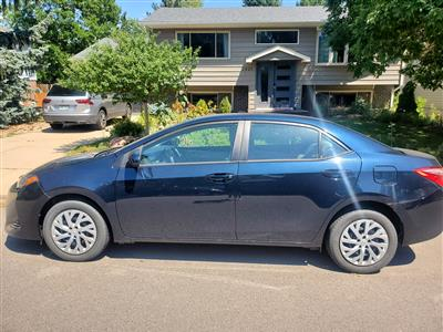 2019 Toyota Corolla lease in Boulder,CO - Swapalease.com
