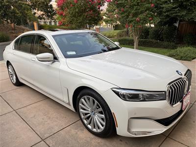 2020 BMW 7 Series lease in San Ramon,CA - Swapalease.com