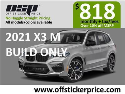2021 BMW X3 M lease in Englewood Cliffs,NJ - Swapalease.com