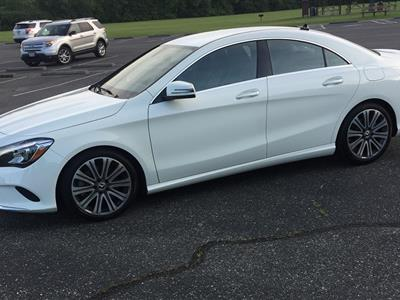 2018 Mercedes-Benz CLA Coupe lease in Carlisle,OH - Swapalease.com