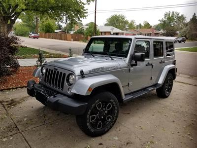 2017 Jeep Wrangler Unlimited lease in Littleton,CO - Swapalease.com
