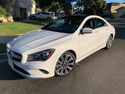 2019 Mercedes-Benz CLA Coupe lease in Costa Mesa,CA - Swapalease.com
