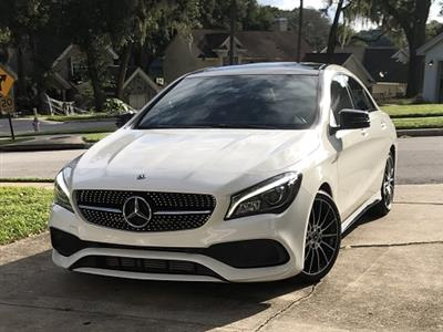 2018 Mercedes-Benz CLA Coupe lease in Orlando,FL - Swapalease.com