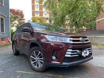 2019 Toyota Highlander lease in CAMBRIDGE,MA - Swapalease.com