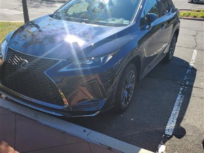 2020 Lexus RX 350 F Sport lease in Old Bridge,NJ - Swapalease.com