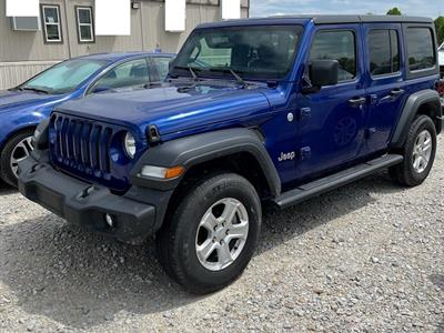 2020 Jeep Wrangler Unlimited lease in Dayton,OH - Swapalease.com