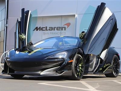 2020 McLaren 600LT Spider lease in Mountain View,CA - Swapalease.com