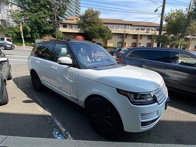 2017 Land Rover Range Rover lease in Cliffside Park,NJ - Swapalease.com