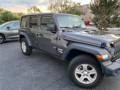 2019 Jeep Wrangler Unlimited lease in Bellmore,NY - Swapalease.com