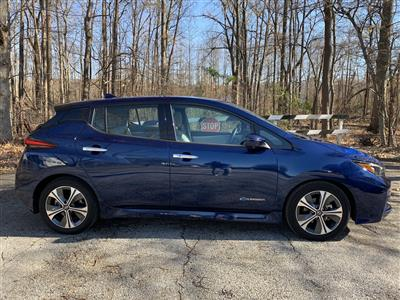 2019 Nissan LEAF lease in Bowie,MD - Swapalease.com