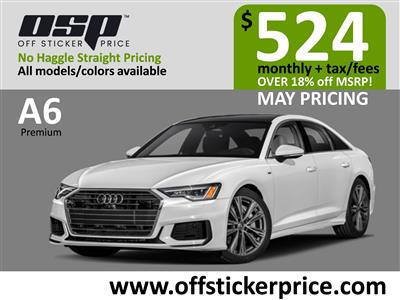 2021 Audi A6 lease in Englewood Cliffs,NJ - Swapalease.com