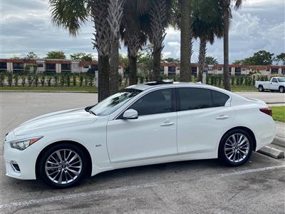 2019 Infiniti Q50 lease in Miami,FL - Swapalease.com