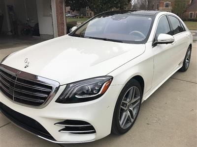2018 Mercedes-Benz S-Class lease in Cincinnati,OH - Swapalease.com