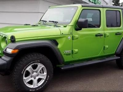 2018 Jeep Wrangler Unlimited lease in San diego,CA - Swapalease.com