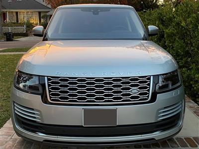 2019 Land Rover Range Rover lease in Sherman Oaks,CA - Swapalease.com