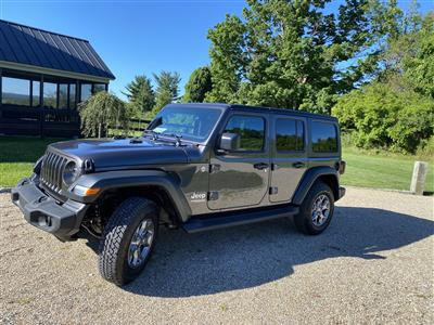2020 Jeep Wrangler Unlimited lease in Lakeville,CT - Swapalease.com
