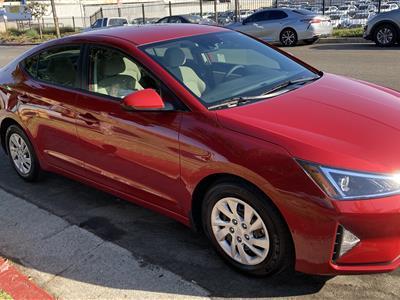 2020 Hyundai Elantra lease in Marina Del Rey,CA - Swapalease.com