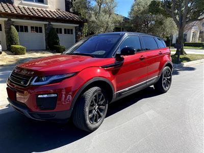 2019 Land Rover Range Rover Evoque lease in Newport Beach,CA - Swapalease.com
