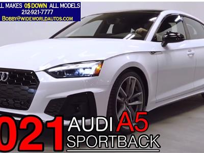 2021 Audi A5 Sportback lease in New York,NY - Swapalease.com
