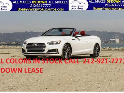 2020 Audi S5 Cabriolet lease in New York,NY - Swapalease.com