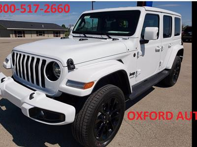 2021 Jeep Wrangler Unlimited lease in Lansing,MI - Swapalease.com