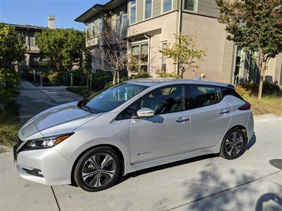 2019 Nissan LEAF lease in Mountain View,CA - Swapalease.com