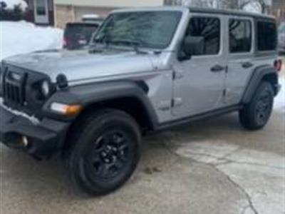 2020 Jeep Wrangler Unlimited lease in Hoffman Estates,IL - Swapalease.com