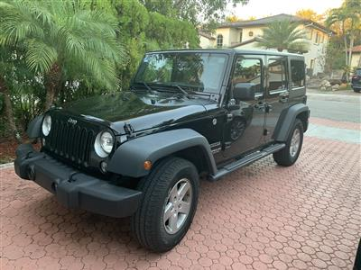 2017 Jeep Wrangler Unlimited lease in Hialeah,FL - Swapalease.com