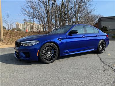2019 BMW M5 Competition lease in Bethesda,MD - Swapalease.com