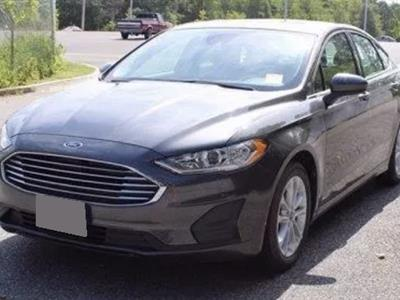 2019 Ford Fusion Hybrid lease in New Bern,NC - Swapalease.com