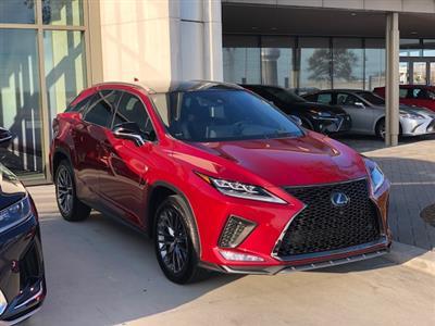 2020 Lexus RX 350 F Sport lease in Dallas,TX - Swapalease.com