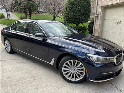 2019 BMW 7 Series lease in Winston Salem,NC - Swapalease.com