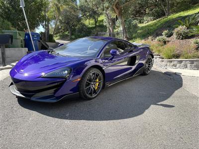 2020 McLaren 600LT Spider lease in Woodland HIlls,CA - Swapalease.com