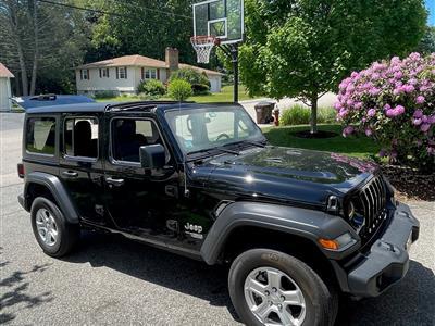 2019 Jeep Wrangler Unlimited lease in Auburn,MA - Swapalease.com
