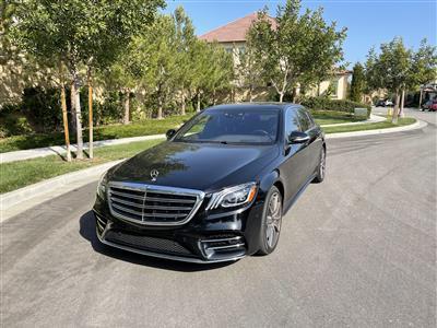 2019 Mercedes-Benz S-Class lease in Irvine,CA - Swapalease.com
