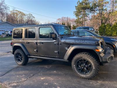 2020 Jeep Wrangler Unlimited lease in Boston,MA - Swapalease.com
