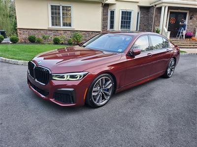 2021 BMW 7 Series lease in North Brunswick,NJ - Swapalease.com