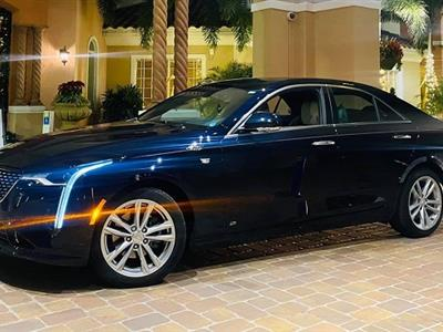 2020 Cadillac CT4 lease in St Petersburg,FL - Swapalease.com