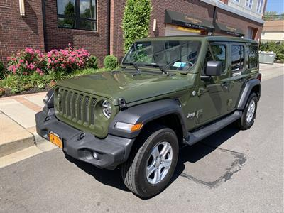 2020 Jeep Wrangler Unlimited lease in Mineola,NY - Swapalease.com