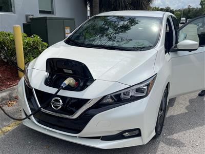 2021 Nissan LEAF lease in Miami,FL - Swapalease.com