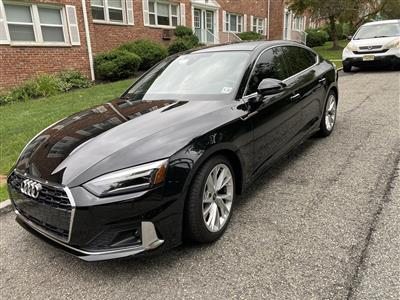 2021 Audi A5 Sportback lease in West Orange,NJ - Swapalease.com