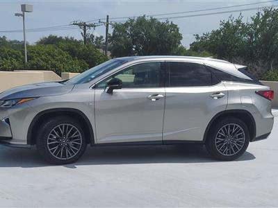 2017 Lexus RX 350 F Sport lease in Addison ,TX - Swapalease.com