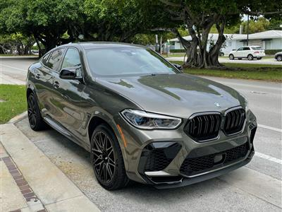 2021 BMW X6 M Competition lease in Miami,FL - Swapalease.com