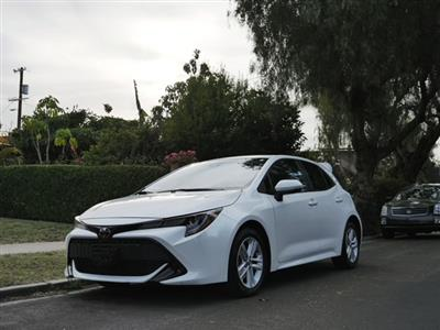 2019 Toyota Corolla Hatchback lease in Los Angeles,CA - Swapalease.com