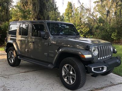 2020 Jeep Wrangler Unlimited lease in Port Richey,FL - Swapalease.com