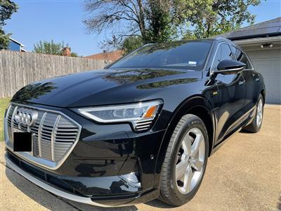 2019 Audi e-tron lease in Dallas,TX - Swapalease.com