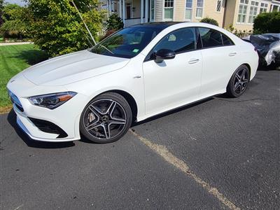 2021 Mercedes-Benz CLA Coupe lease in Fairfield,CT - Swapalease.com