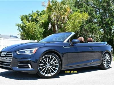 2018 Audi A5 Cabriolet lease in West Hollywood,CA - Swapalease.com