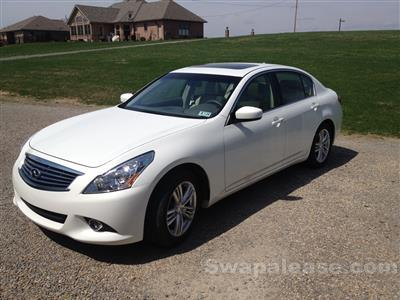 2013 Infiniti G37 Sedan lease in Wellsburg,WV - Swapalease.com