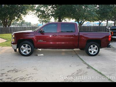 2014 Chevrolet Silverado 1500 lease in Denton,TX - Swapalease.com